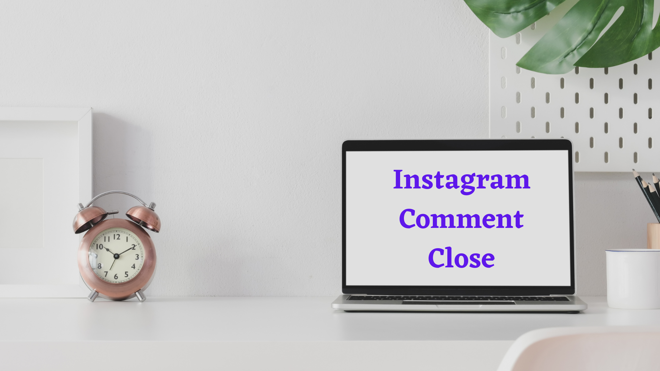 Instagram Comment Close