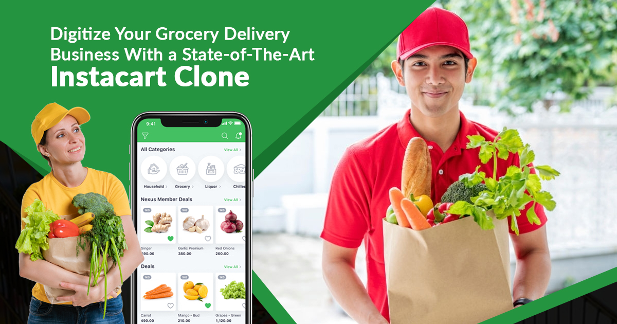 Digitize Grocery Delivery Business