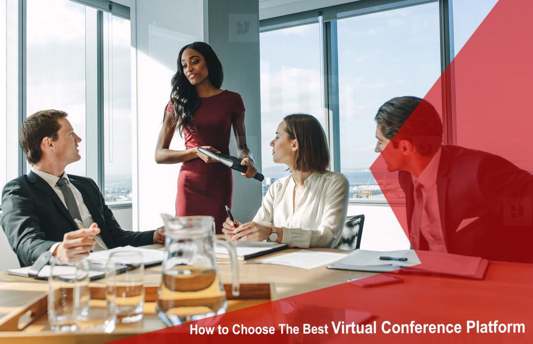 Virtual conference platform