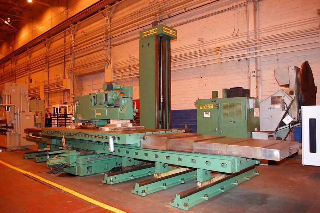 Giddings & Lewis Horizontal Boring Mill