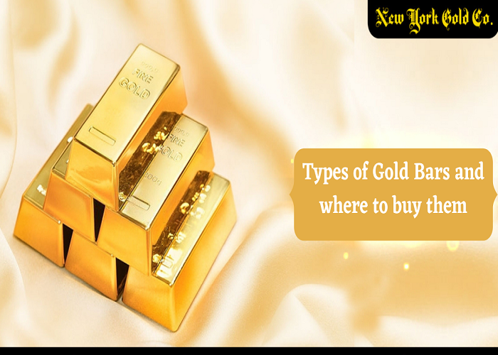Types of Gold Bars and where to buy them